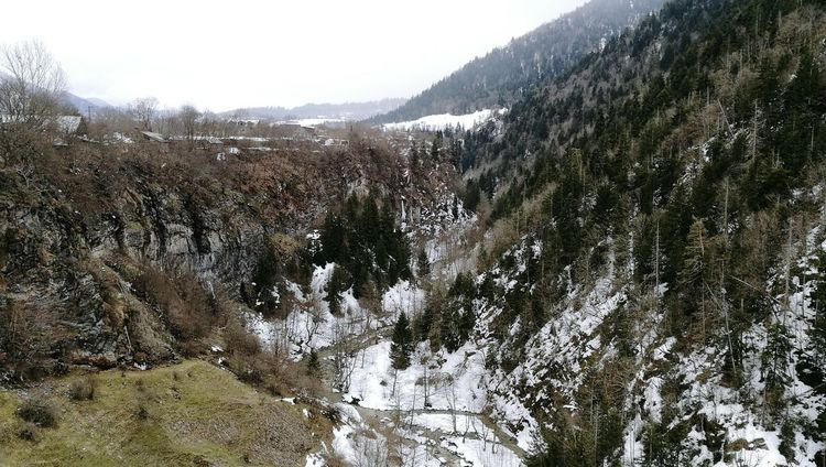 Borjomi, view from st george church Nature Winter Beauty In Nature View From Above Church Beauty In Nature