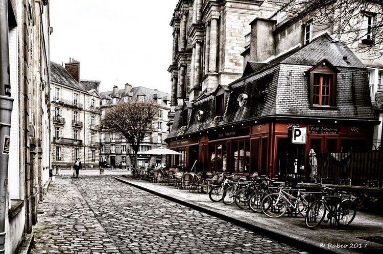 Ville et vilaine... Building Exterior Architecture Built Structure Bicycle City Rennes Ciel Bzh Bretagne Breizh The Street Photographer - 2017 EyeEm Awards