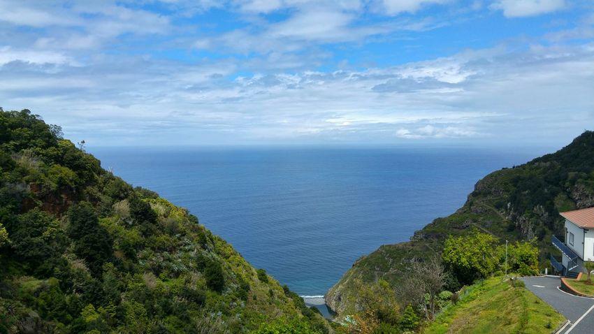 Madeira Madeira Island Portugal São Jorge Santana Beauty In Nature Landscape Scenics Nature Tranquility Sea And Sky Nature