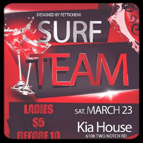 Surf Team #509 Party