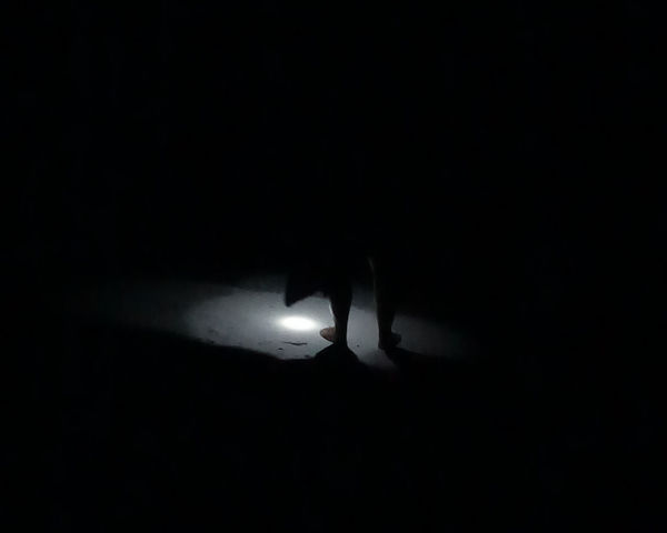 Abstract Beach Dark Light Night Noche Oscuro Shadows & Lights Silhouette