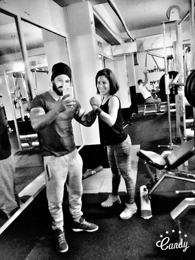Two People Gym Sports Training Sport City Taking Photos Kktc Happiness Hello World EyeEm Team Kibriscik Cyprus Lifestyles First Eyeem Photo Kıbrıs Mobile Phone EyeEm Gallery Gymaholic Fitness Fitness Time Gym Gym Gym Gym<3 Body & Fitness