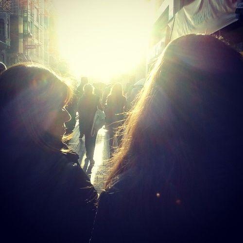Istiklalcaddesi Istanbul Street Gunisigi sunshine