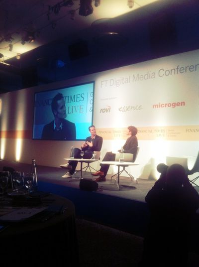 @ericw @tim on stage #ftmedia12 at Grange St. Pauls Hotel @ericw @tim On Stage #ftmedia12