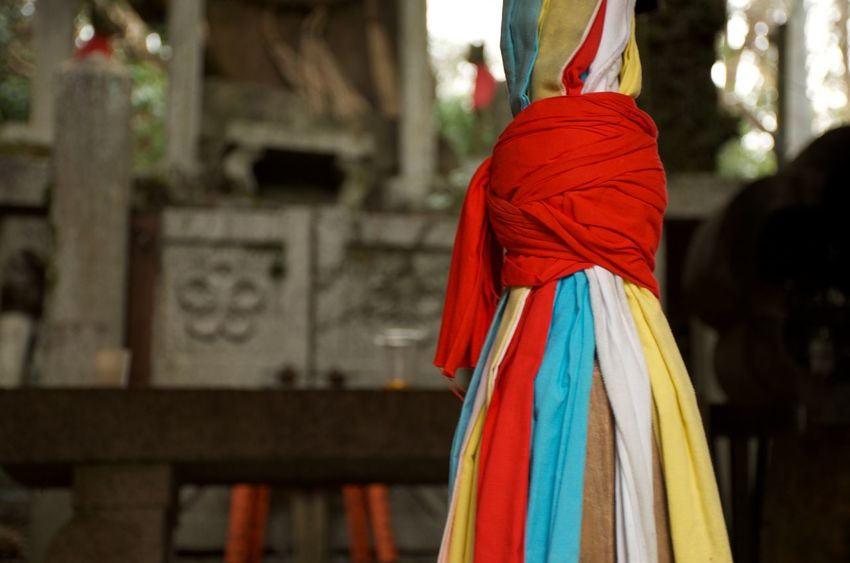 Celebration Religion Prayer Traditions And Rituals Praise And Worship Blessings Multi Colored Japan Focus On Foreground No People Shrine Travel Colorful Fabrics Ancestor Worship