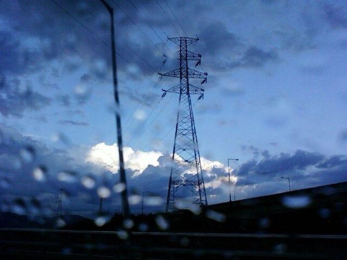 Street Rain Tear Drop