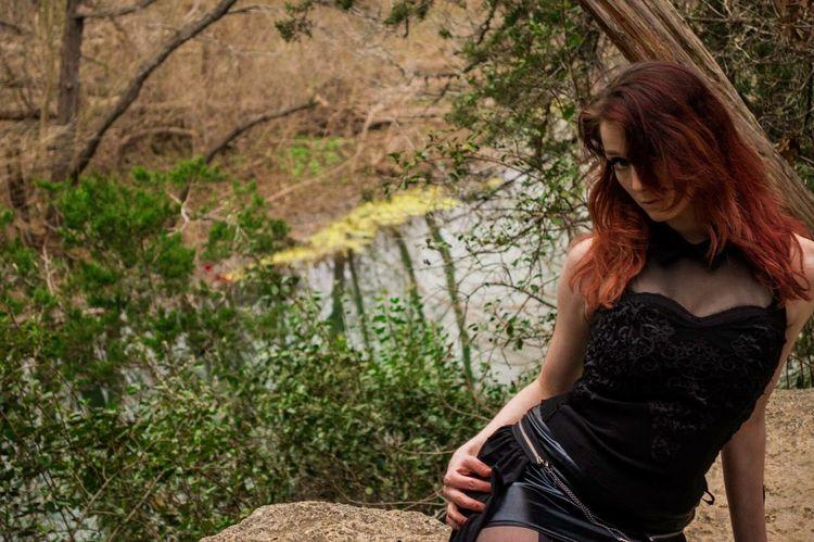 Photo 17 green belt shoot. Model: Viccy Lemmond Photography Texas Beautiful Girl Model Nature Photoshoot Austin Green Belt