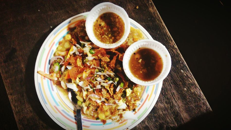 Food Foodphotography Streetfood On The Road Chotpoti