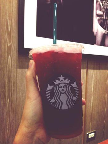 Something new! Spring Starbucks Rose Tea