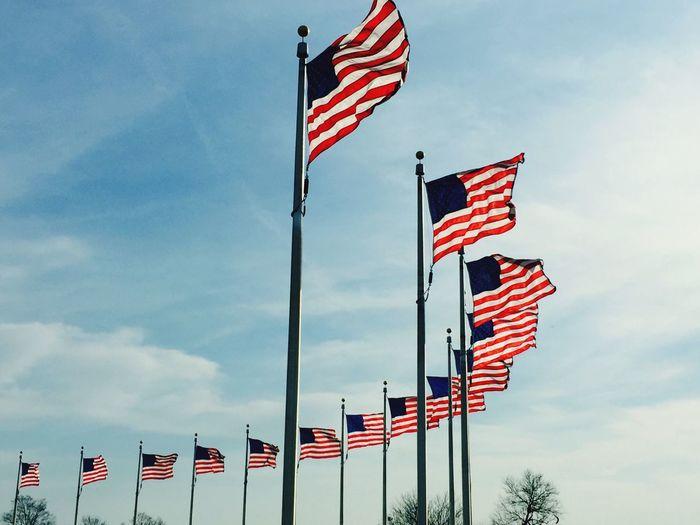 Washington, D. C. Washington Monument Taking Photos USA FLAG Traveling Eye4photography  Enjoying Life