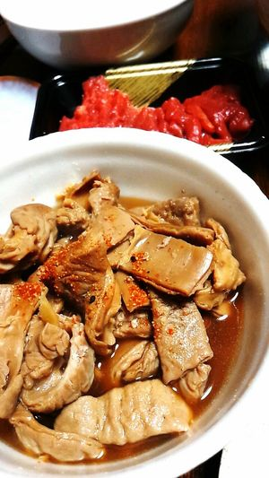 Simmered Giblets Christmas モツ煮込み♡♡♡