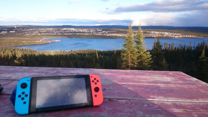 Gaming in the wild No People Outdoors Sky Day