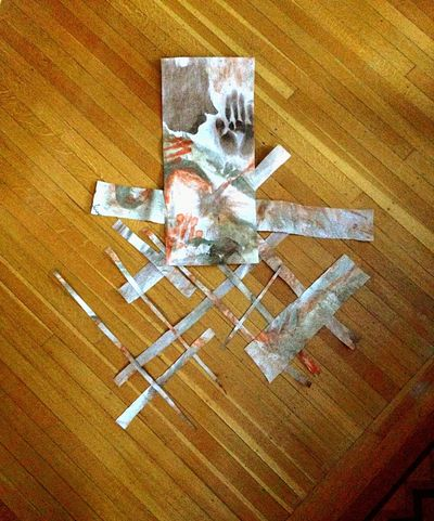 Sat Down Affected By The Storm Touched By An Angel  Put The Pieces Back Together