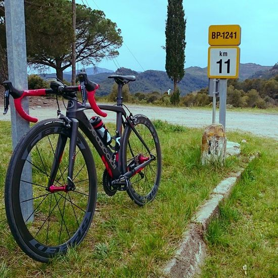 Primer entreno de calidad con strada dedacciaiSuperEvo. Increible la clara personalidad de esta BikeRoad! Stravaphoto Garmin Di2