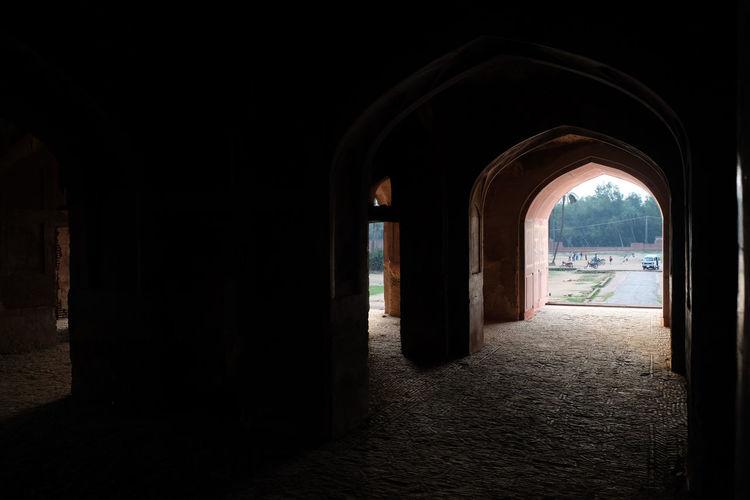 Archway In Corridor