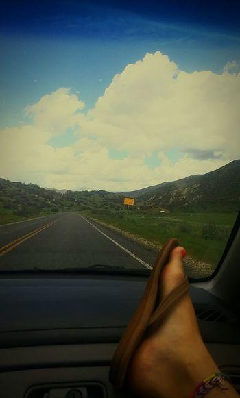 Mountain View Flipflops Mountains Beautiful Lovely Openskies Utah Uintamountains Lakeday EyeEm Nature Lover