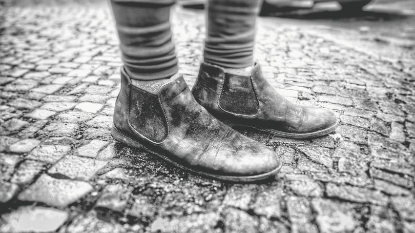 Ugly Shoes Ugly Shoes Dirty Dirtyshoes Dirty Shoes Bw Blackandwhite Black And White Black & White Blackandwhite Photography Black&white Street Streetphotography Street Photography Streetphoto_bw Street Fashion Streetphotography_bw Focus On Foreground City Life Day Outdoors Showcase June The Still Life Photographer - 2018 EyeEm Awards The Street Photographer - 2018 EyeEm Awards