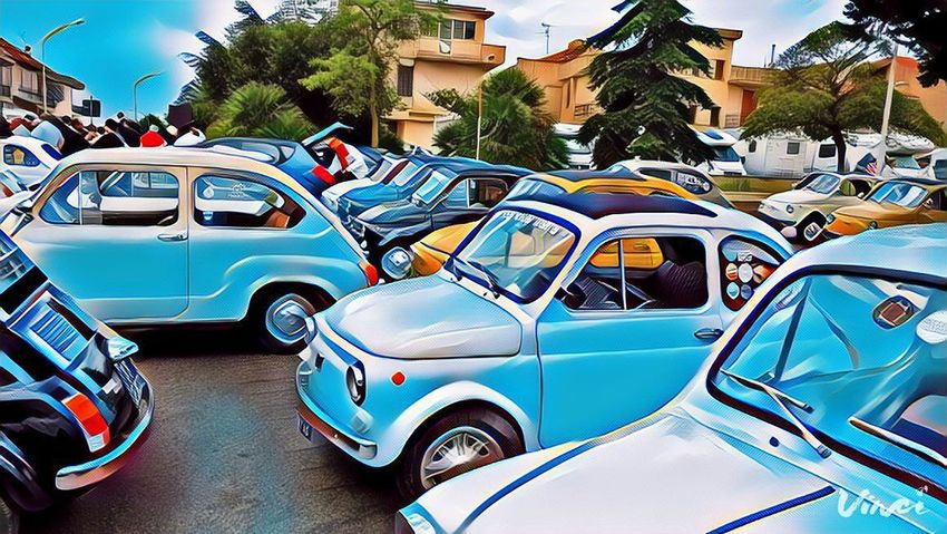 500 Fiat Fiat500 Meeting Point Street Car Old Oldschool Classic Cars Streetphotography Street Portrait Streetphoto_color