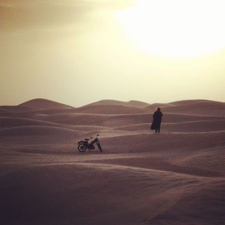 Tunisia Tunisie Desert Desert Life Dune Sahara Desert Mobylette Motorcycle Adventure Travel Road Trip EyeEmNewHere The Week On EyeEm