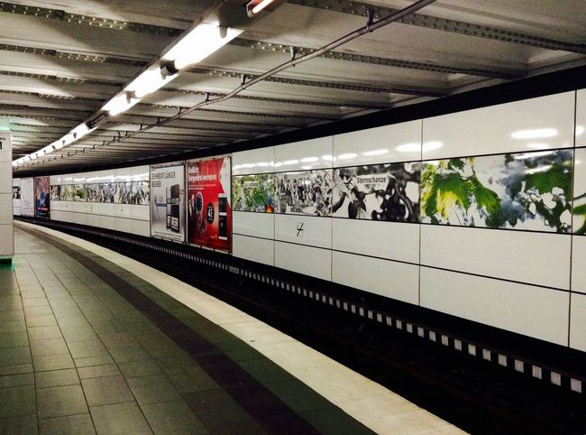 Colorful Railwaystation Sternschanze Hamburg Ilovehamburg Check This Out