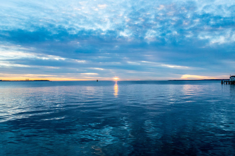 Beauty In Nature Cloud - Sky Day Horizon Over Water Nature Nautical Vessel No People Outdoors Reflection Scenics Sea Sky Tranquil Scene Tranquility Transportation Water Waterfront