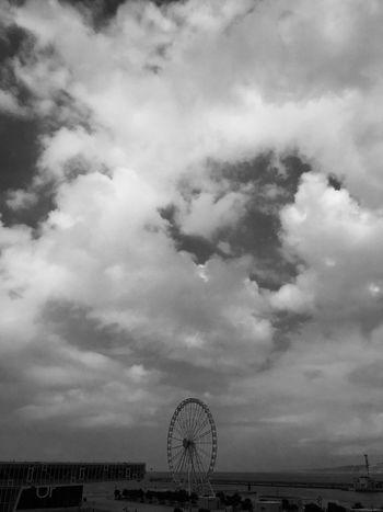 Nostalgy Monochrome Clouds And Sky Nuages Nuages Ciel Sky Joliette Marseille, France Marseillerebelle Marseille Mucem Granderoue NoPeopleAround Nopeople
