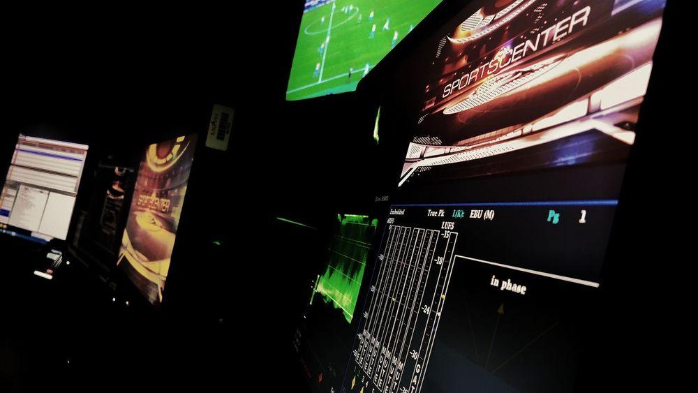 Espnwideworldofsports Indoors  . Myplace EspnMexico Working SportsCenter Ediciondevideo DreamJob Editing Onair Posproduccion Myjob Postproducción Readytowork City No People Skyscraper Night