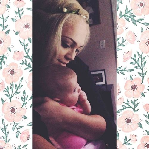 Me & miss Sydni Jade. This is true LOVE. My daughters are my everything <3 Babygirl Twinone Mybaby Truelove loveforevermyworld