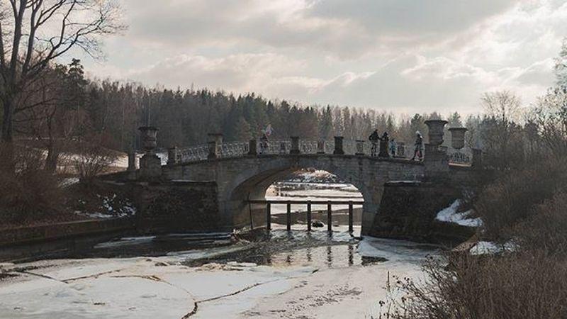 Продолжим прогулку по весеннему Павловскому парку Spb_planet Spbgram Yes_piter Spb_live I_love_spb Природа Spbonthealert Спб петербург Spblive питернеспит Spb Russia павловск мост Bridge Pitergram весна Питер СанктПетербург Saintpetersburg HDR
