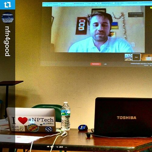Repost @nfn4good ・・・ Tech4Good meeting in Naples, Florida with featured speaker Sean McDonald, 2012 Knight Foundation Data Challenge Award winner and data visualization pioneer - via Google+ Hangout On Air. Net2 Netsquared Nptech Sponsored by: @Relevanza @ntenorg @netsquared @vpbnaples
