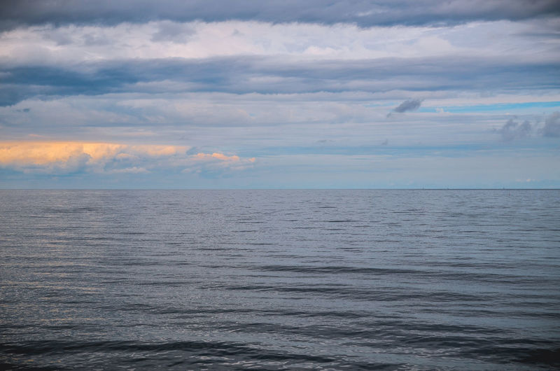 Baltic Sea Bansin Beauty In Nature Calm Cloud Cloud - Sky Cloudy Day Horizon Over Water Idyllic Nature No People Ocean Ostsee Outdoors Remote Rippled Scenics Sea Seascape Sky Tranquil Scene Tranquility Water Waterfront