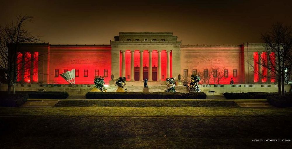 Nelsonatkinsmuseum Chiefskingdom Kansas City NFLPLAYOFFS
