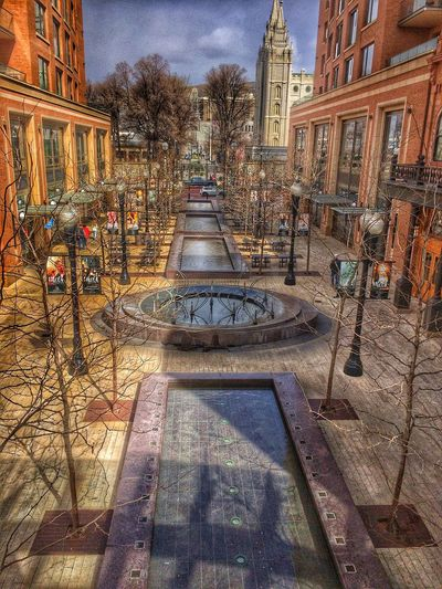 Citycreekmall This Week On Eyeem Fountain Stream From My Point Of View From Where I Stand Fromabove Architecture Design Modern Temple Saltlakecityutah Citycreek Mall Springtime Waterfeature Water Urban Cityscapes