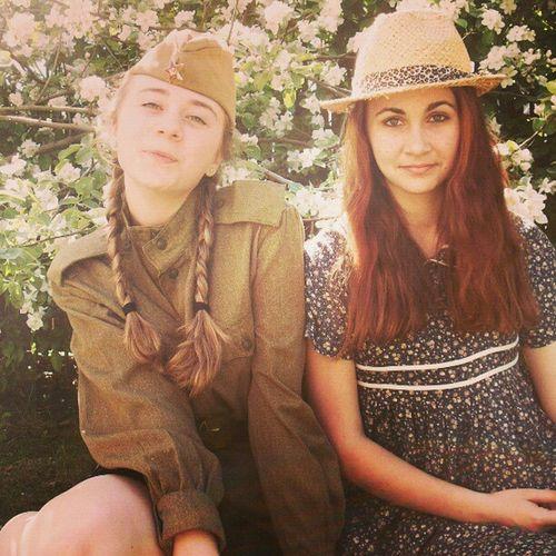 фото я весна и Юля