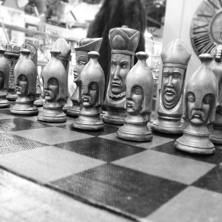 Arrangement Art Close-up Creativity Game Game Pieces Board Game Figurine  In A Row Large Group Of Objects No People Sculpture Selective Focus Statue Still Life Chess Chesspieces Chessboard Chess Set Black And White