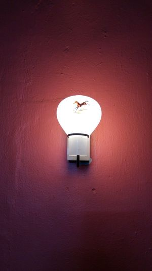 Showcase: February The Purist (no Edit, No Filter) Lamp on the wall.