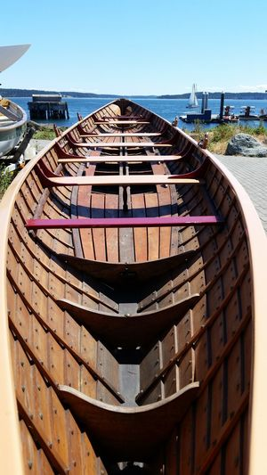 Perfection of form and structure in wood Boatshop Restoration Project Boat Restoration Boats Nautical Theme