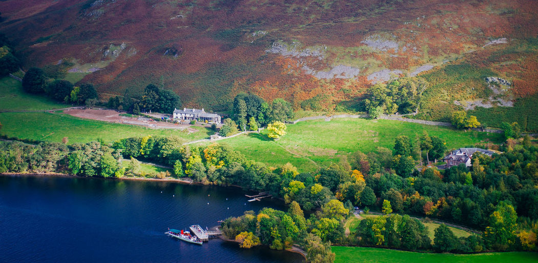 Lake District Ullswater Autumn Beauty In Nature Change Day England Environment Growth Lake Land Landscape Nature Nautical Vessel No People Outdoors Plant Scenics - Nature Tranquil Scene Tranquility Transportation Tree Water