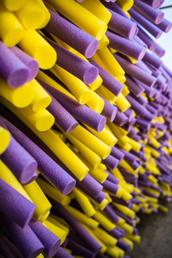 Yellow And Purple Sponges For Sale At Market