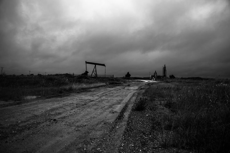 Oil Well site by, Cooper Billington Fuel Energy Environment Landscape Oil Pump Outdoors Photography Road Sky