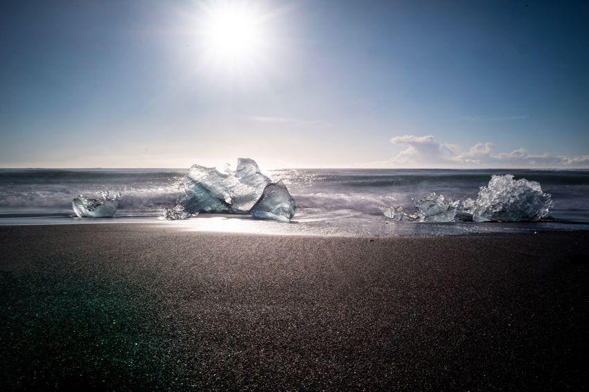 Diamond Beach, Iceland Iceland Nature Travel Beach Diamondbeach Ice Landscape Outdoors Scenics Travel Destinations Go Higher