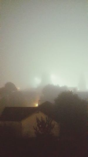 Really thick fog