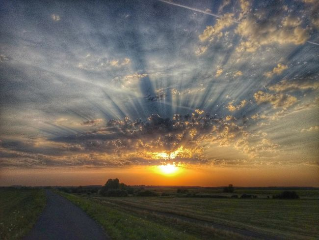 Kunszentmárton Sunset August Nights 2017 HDR Freedom Desert Hungarian Nature Photography