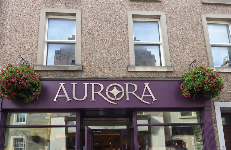 Kirkwall - Orkney Islands, Scotland Architecture Flower Building Window Day Outdoors Text Aurora Communication Scottish Highlands No People Remote Location Window Box Low Angle View Building Exterior Built Structure Orkney Islands A Taste Of Scotland Bleak And Cold Handicraft Shop