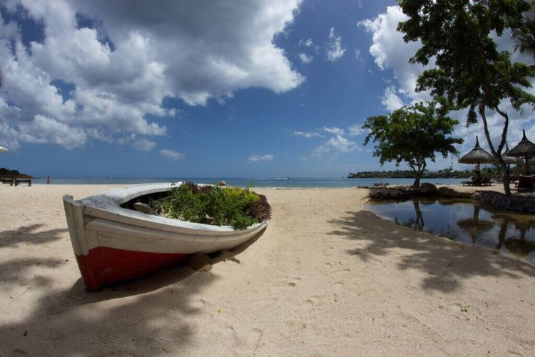 Beach Sand Nature Water Outdoors Mauritius Boat