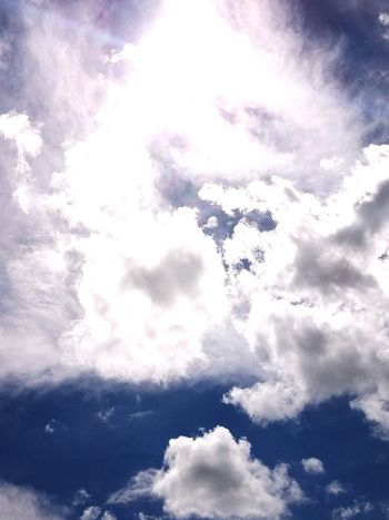 Cloud - Sky Heaven Spirituality No People Beauty In Nature Blue Sky Day Nature Outdoors