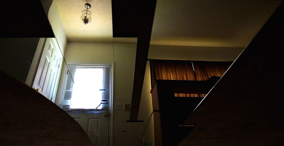 Johnleephotography Insomniac_collection Sleep Deprived Shotoncanon Insomnia Reflections Low Angle View Sleepdeprivation Spooky Atmosphere Empty No People Indoors  Window Day Eerie Scene