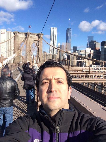 New York City Broklyn Bridge