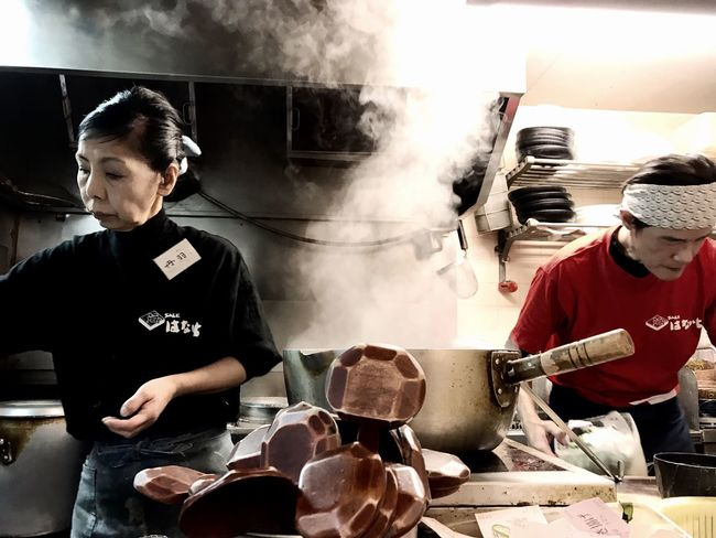 Two People Indoors  Working Real People Occupation Small Business Food Freshness People Day Adult Soba Soba Noodles Restaurant EyeEmJapan IPhoneography Japan Photography Japanese Food Tokyo Smoking Hot Tokyo,Japan Tokyo Street Photography Urbanphotography Cooks Cooking