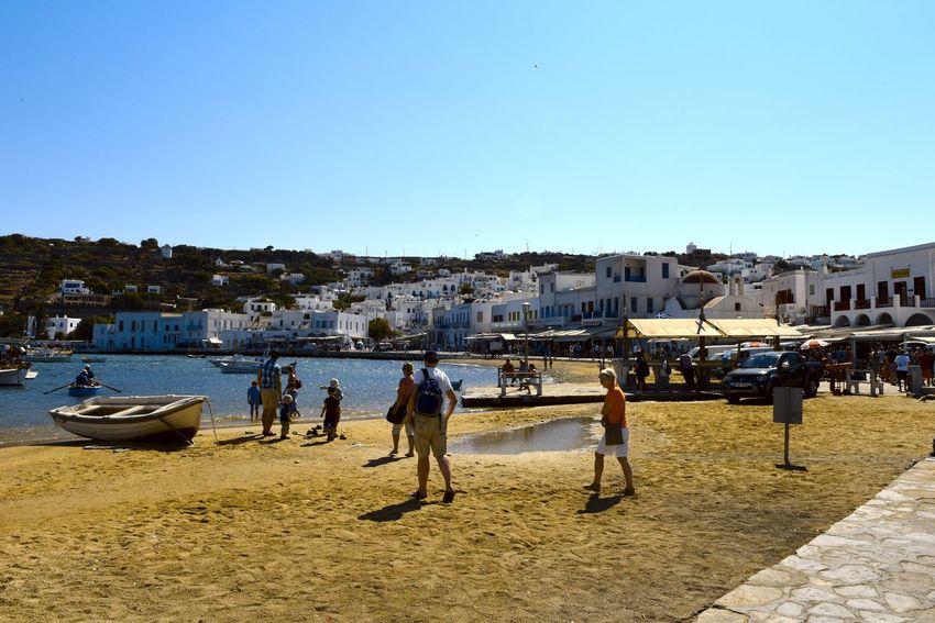 Aegean Aegean Islands Aegean Sea Blauer Himmel Blaues Meer Blaues Wasser Blue Sea Blue Sky Greece Hafen Harbor Kykladen Kyklades Mykonos Mykonos,Greece Sky Wasser Water ägaisches Meer ägäis ägäische Inseln